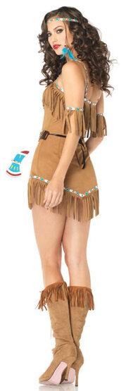 Sexy Tribal Goddess Indian Costume