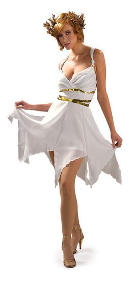Womens Grecian Goddess Adult Costume