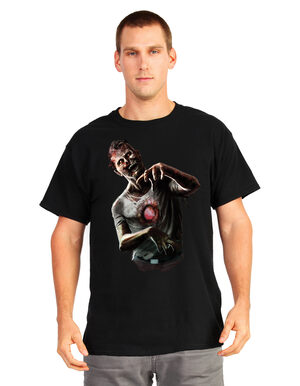 Animated Beating Heart Zombie T-Shirt Adult Costume