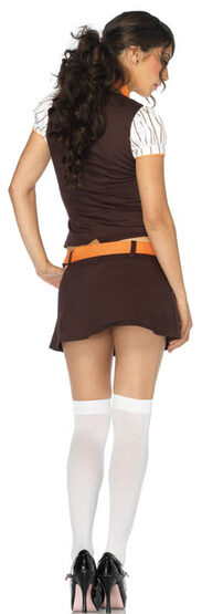 Sexy Cookie Scout School Girl Costume