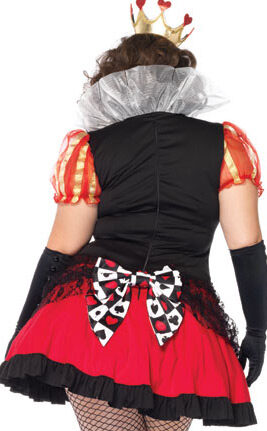 Wicked Queen of Hearts Plus Size Costume