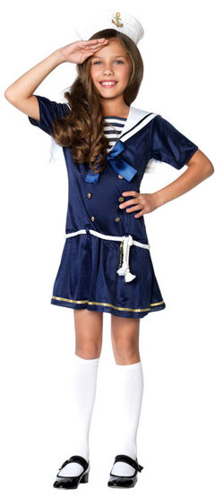Shipmate Cutie Sailor Girl Kids Costume