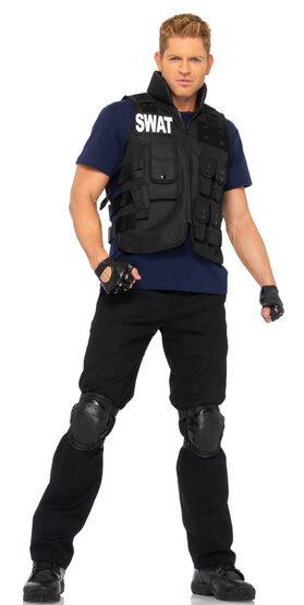 SWAT Commander Police Adult Costume