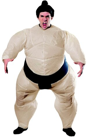 Inflatable Sumo Wrestler Adult Costume