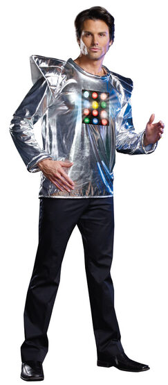 Robot A Boom Light Up Robot Adult Costume