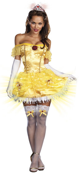 Sexy Light Up Storybook Beauty Princess Costume