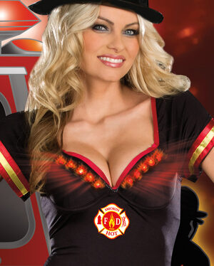 Sexy Light My Fire Firefighter Costume