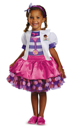 Doc McStuffins Tutu Disney Kids Costume