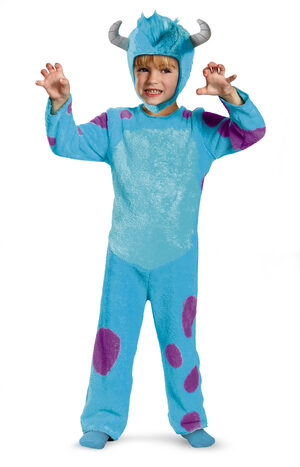 Monsters University Sulley Toddler Kids Costume