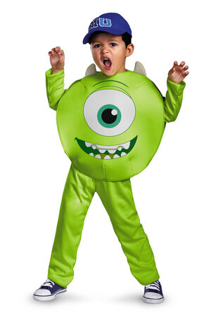 Monsters University Mike Toddler Kids Costume