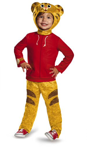 Daniel Tiger Toddler Kids Costume