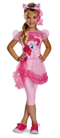 Girls Pinkie Pie My Little Pony Kids Costume