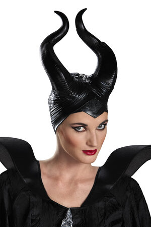 Deluxe Disney Evil Maleficent Horns
