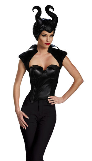 Sexy Disney Maleficent Bustier Costume