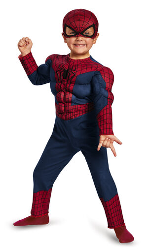 Spiderman Toddler Muscle Chest Kids Costume