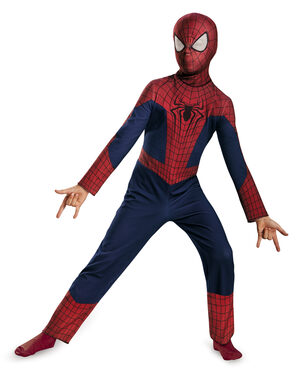 Classic Spiderman Superhero Kids Costume