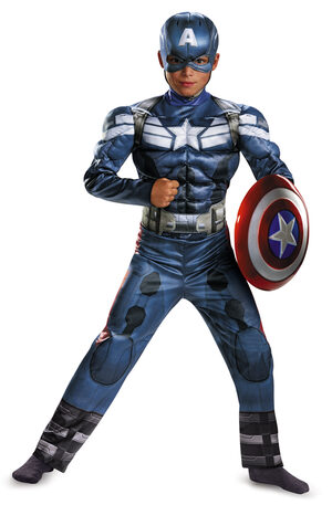 Classic Captain America Kids Costume