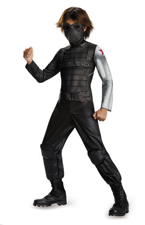 Classic Winter Soldier Movie Kids Costume