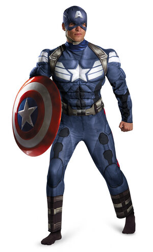 Classic Captain America Movie Adult Costume