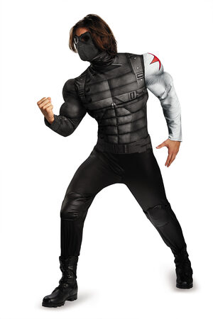 Classic Winter Soldier Movie Adult Costume