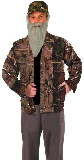 Funny Hunting Man Camo Jacket Adult Costume
