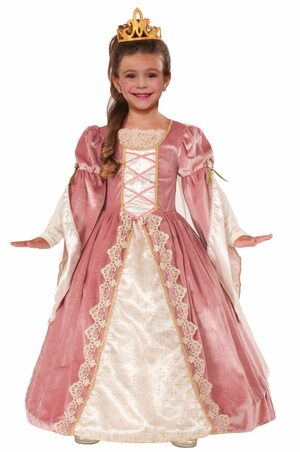 Victorian Rose Princess Kids Costume