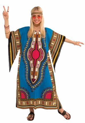 Dashiki Hippie Adult Costume