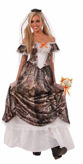 Hunting for Love Bride Adult Costume
