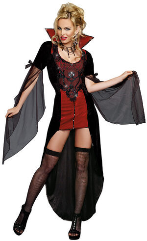 Sexy Killing Me Softly Vampiress Costume