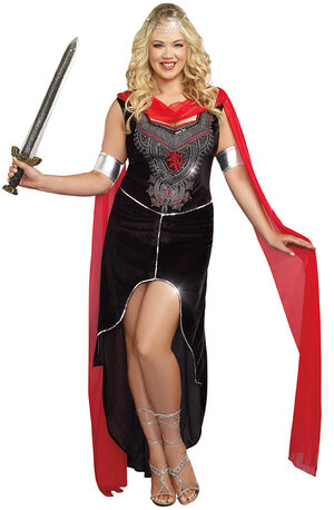 Scandalous Sword Warrior Plus Size Costume