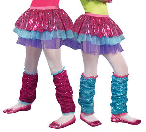 Pink Dance Craze Leg Warmers