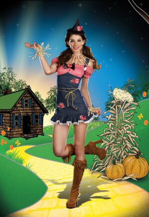 Sexy Wizard of Oz Scarecrow Cutie Costume