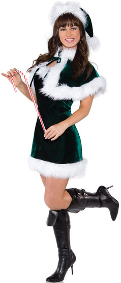 Sexy Jingle All The Way Elf Costume