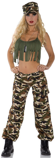 Sexy Ready for Duty Soldier Costume