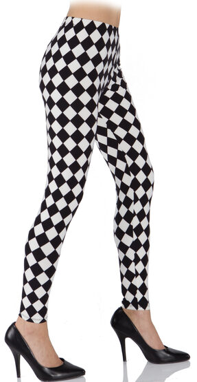 Harlequin Clown Leggings