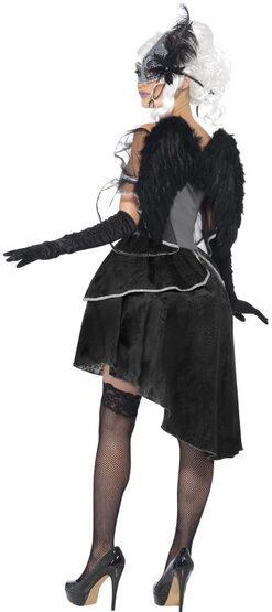Sexy Gothic Masquerade Angel Costume