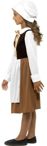 Historical Tudor Girl Kids Costume
