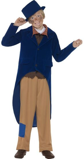 Boys Dickensian Historical Kids Costume