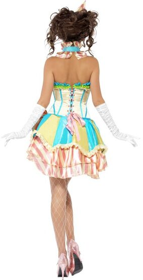 Sexy Vintage Circus Clown Costume