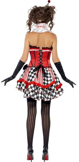 Circus Cutie Sexy Clown Costume