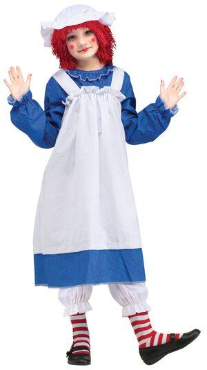Storybook Raggedy Ann Kids Costume