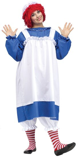 Raggedy Ann Storybook Plus Size Costume