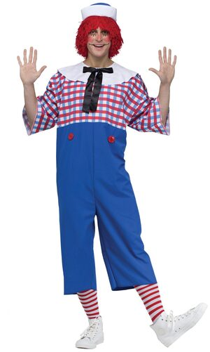 Raggedy Andy Storybook Adult Costume