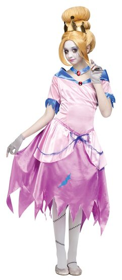 Zombie Princess Cinderella Kids Costume