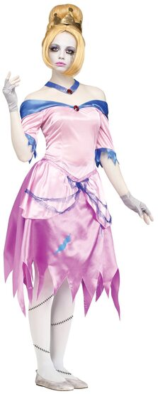 Once Upon A Zombie Cinderella Adult Costume