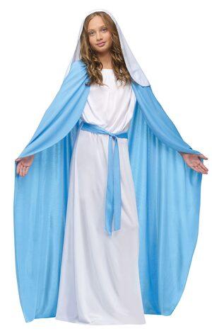 Mary Religious Kids Costume