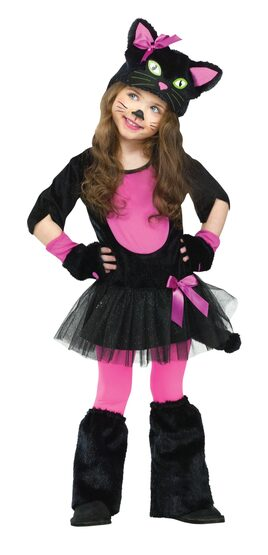Toddler Miss Kitty Cat Kids Costume