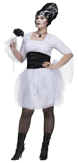 Monster Bride Gothic Plus Size Costume