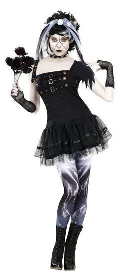 Gothic Frankensteins Bride Adult Costume