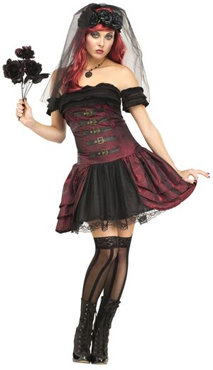 Sexy Draculas Vampiress Bride Costume